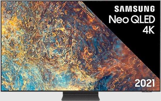 Samsung Qled tv, vooraanzicht