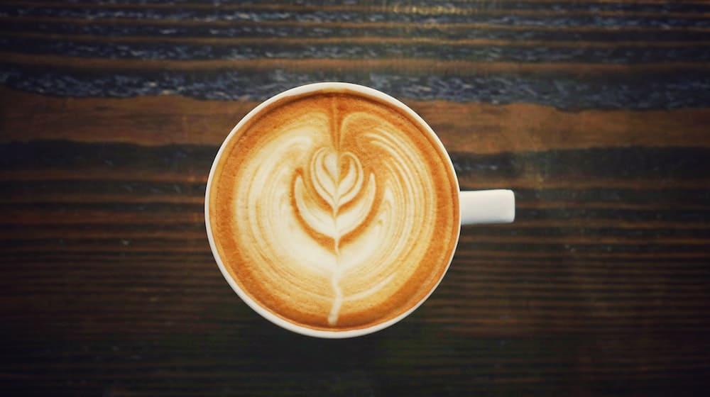 Cappuccino op hout